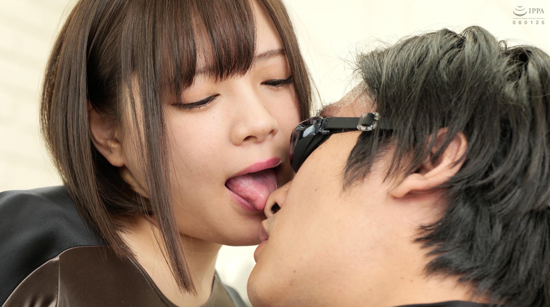 【舌ベロ】大人気女優 一条みおチャンの舌ベロ顔舐め手コキ作品!